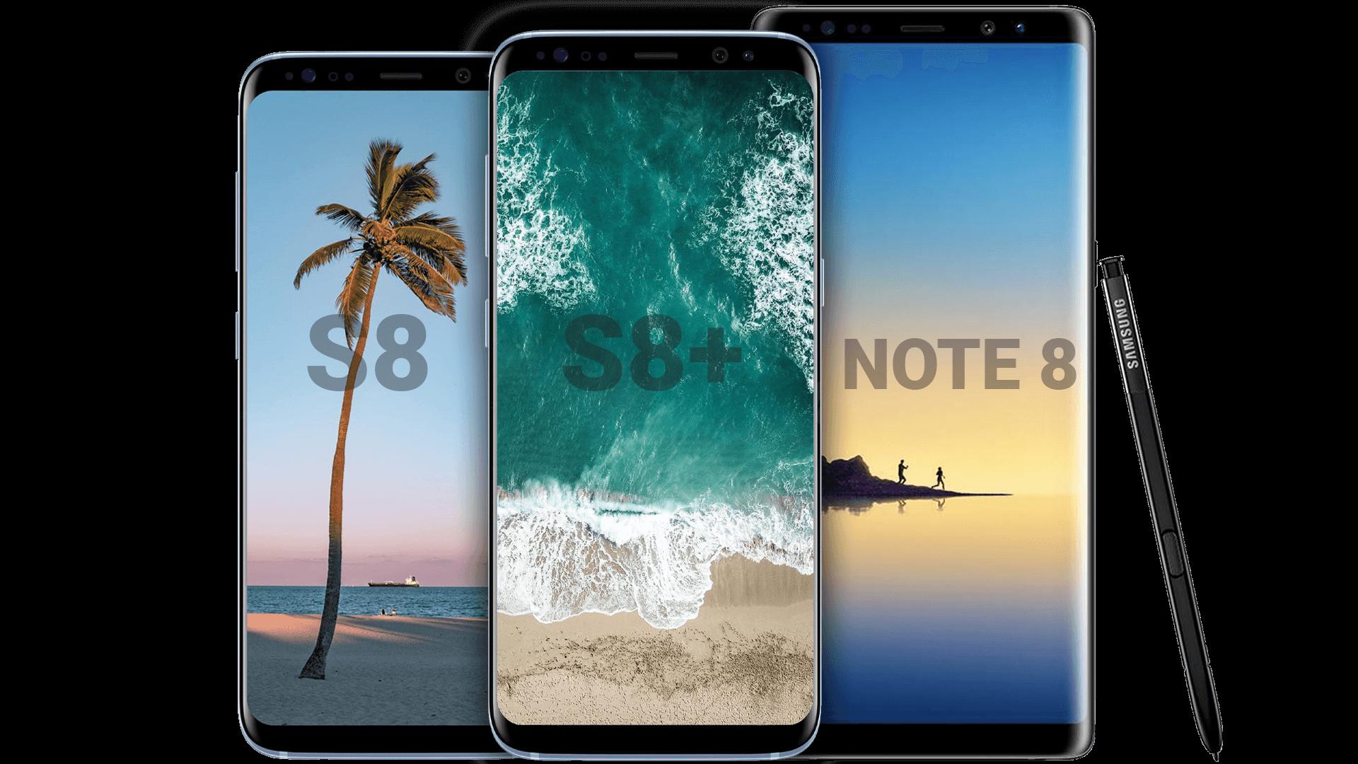 S8 Promo Phones Lineup